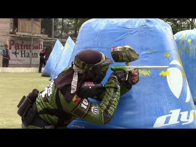 Paintball Playing Winning and Traveling TurtlePower