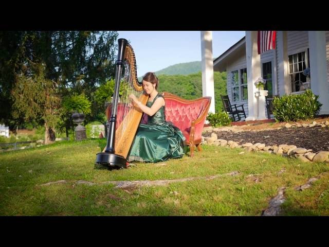 Canon in D | Harpist for the King | Official Music Video