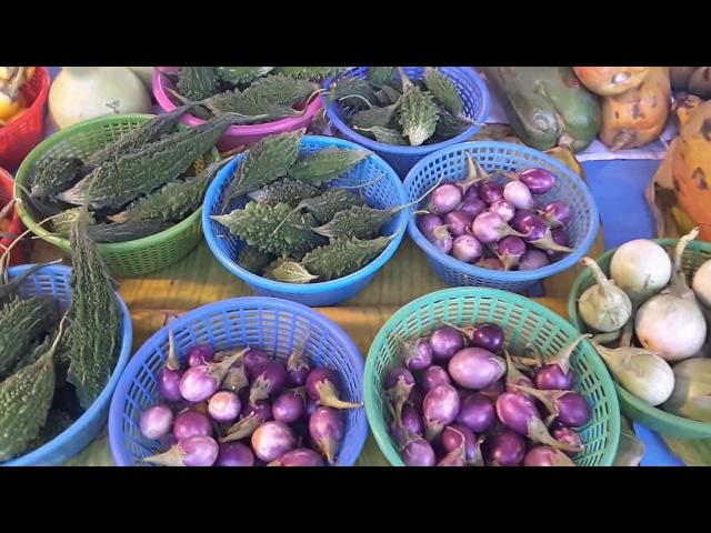 Таиланд, Ча-Ам, очень яркий рынок по Понедельникам