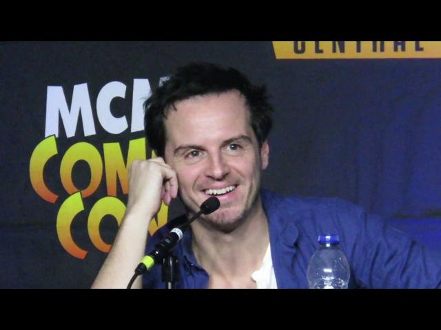 Andrew Scott Comic Con London 29 10 2017 part 6