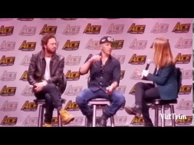 The Punisher panel at Ace Comic Con!