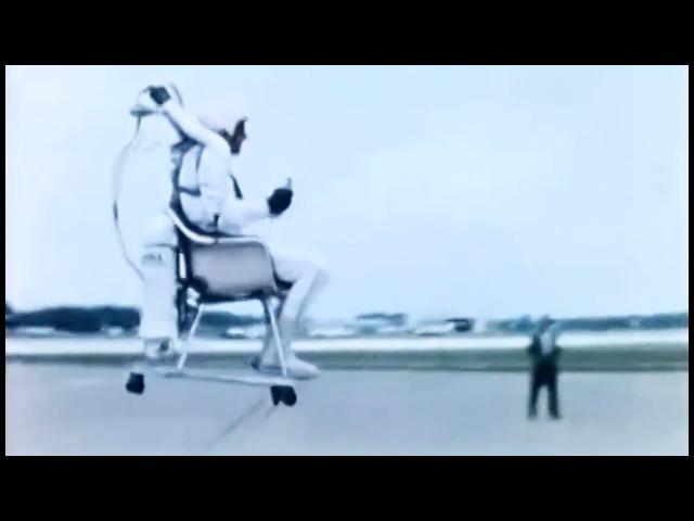 Flying Chair Bell Aerosystems Flying Seat 1965 NASA Langley Bell Rocket Belt Derivative