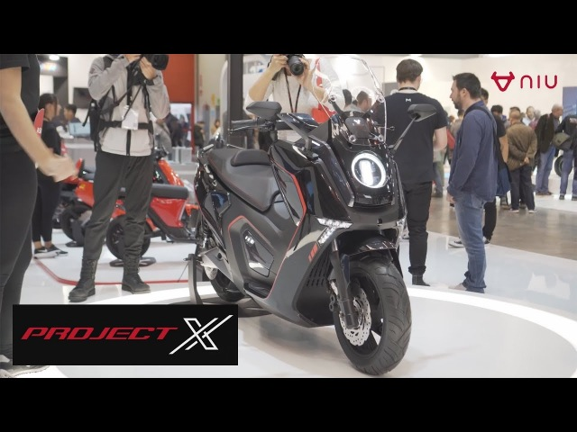 NIU Project X Electric Motorcycle 2018