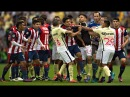 Clasico de Clasicos - America vs. Chivas (Fights, Fouls, Red Cards)