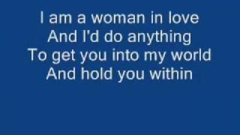 YouTube - Barbra Streisand - Woman in Love Lyrics.flv