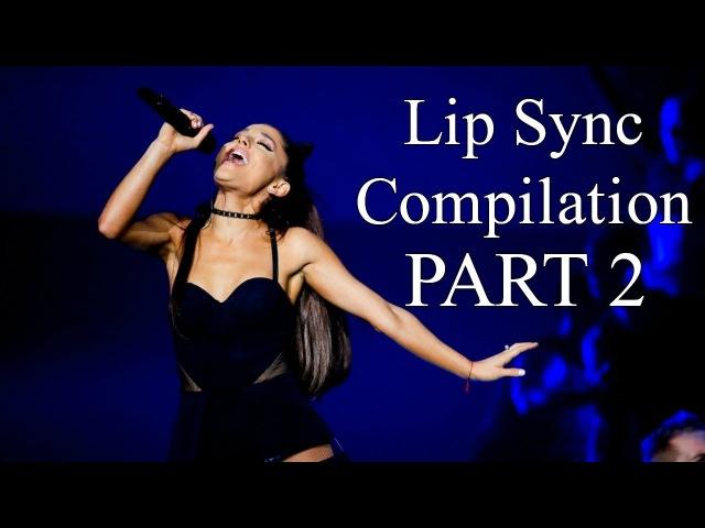 Ariana grande lip sync compilation part 2