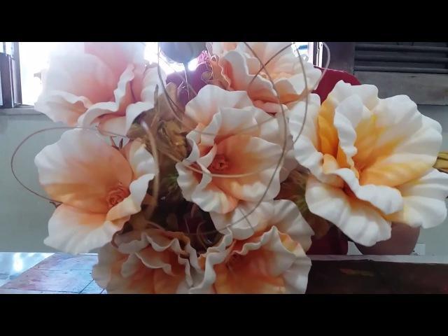 Tutorial: Rosa Serenata com Frisador (EVA)