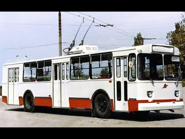 Троллейбус ЗиУ-682В - легенда СССР | восстановленный 1977 года г. Житомир