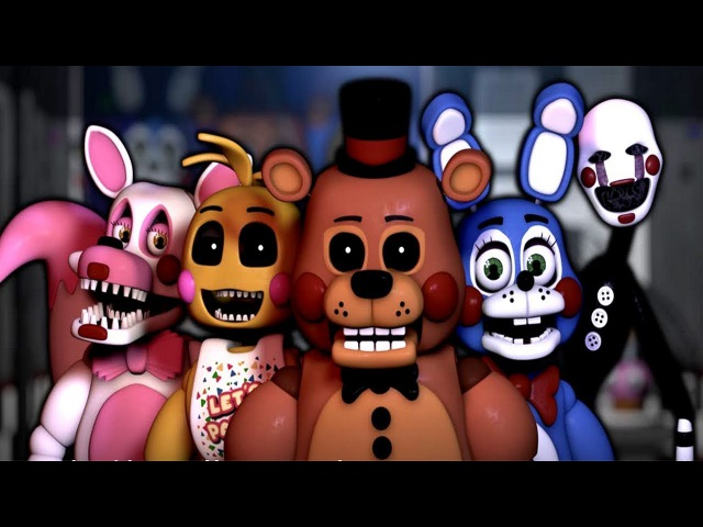 NEW Five Nights at Freddy's: Remastered || TOY ANIMATRONICS 1