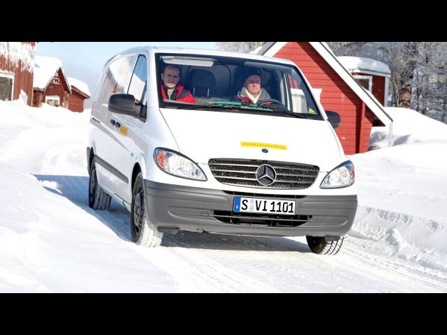 Mercedes Benz Vito BlueEfficiency Prototype W639 '2010