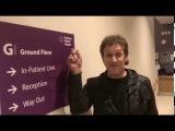 Rock legend Vivian Campbell visits Northern Ireland Hospice