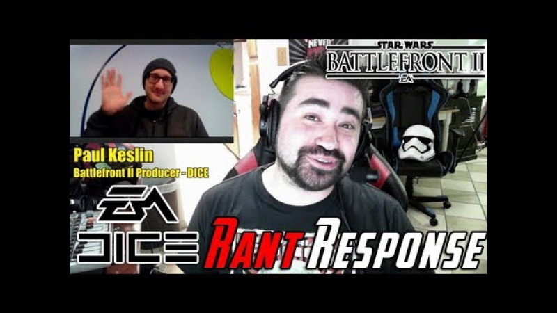 EA's Responds to Star Wars Loot Box Rant! - [Angry Interview]