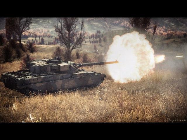 War Thunder РБ Позиционная игра за кружкой чая. Бритосики Cief MK.10