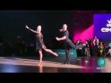 Cimen 2017 Superstar Showcase - Michael malitowski &amp Joanna leunis, Samba
