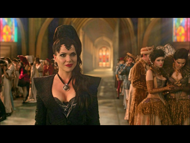 Once Upon A Time 1x01 Snow White And Prince Charming's Weeding - The Evil Queen's Curse Scene