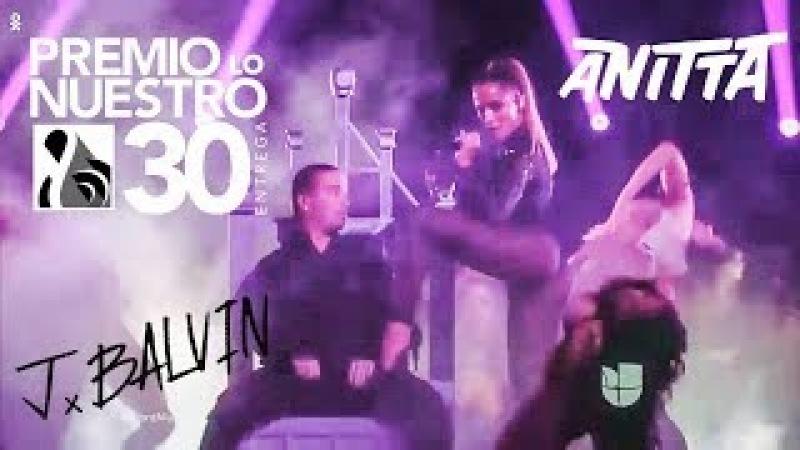 Anitta MACHIKA e DOWNTOWN com J Balvin | Premio Lo Nuestro 2018 PERFORMANCE COMPLETA HD