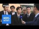 두바이 사로잡은 엑소…K팝 최초 '분수쇼' 수천 명 몰려 | KBS뉴스 | KBS NEWS