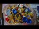Заготавливаем пластик к открытию мастерской (TEP - Tinerii pentru EcoPlastic)