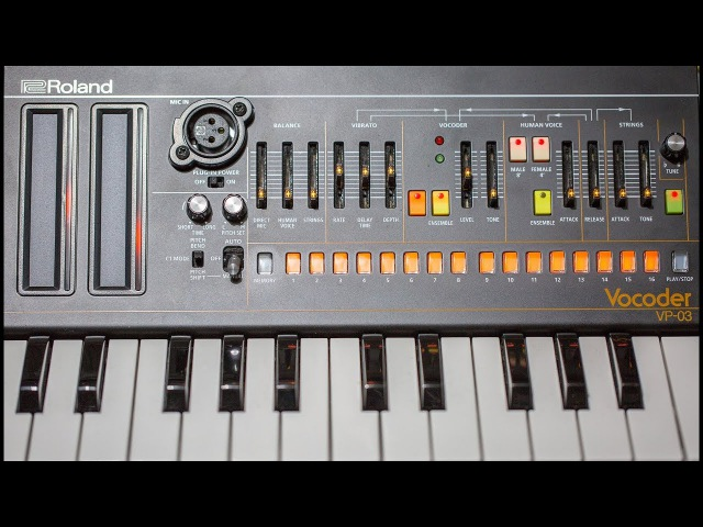 Roland VP-03 Boutique Vocoder features and review