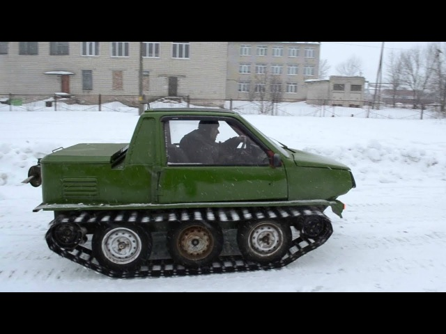 11 Most Amazing Homemade All-Terrain Tracked Vehicles You Have Ever Seen