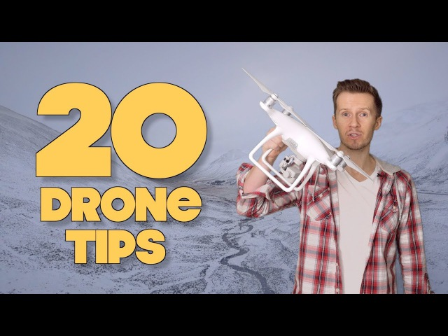 20 Drone Tips To Fly Like A Pro Filmmaker!