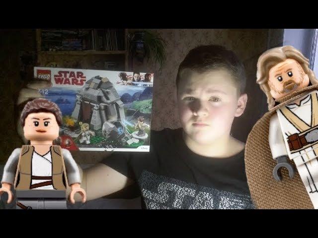 LEGO Star Wars ЛЮК И РЕЙ Набор На Обзор 75200