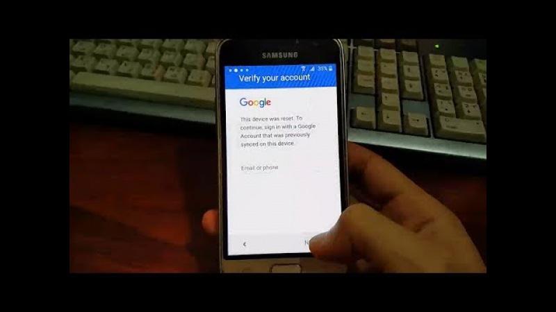 Remove account google samsung galaxy j1 6 2016 j120h j120f j120fn j120gn simple method