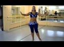 Он-лайн уроки танца живота Baladi часть 1 с комментариями