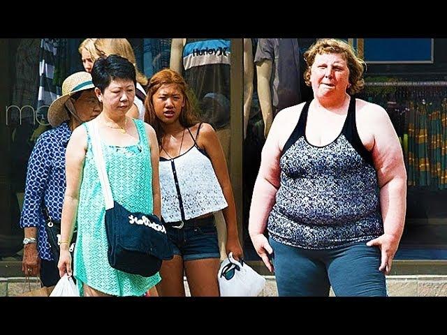 Женщина с ожирением засняла реакцию прохожих на себя