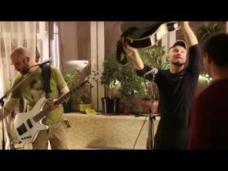 Фистинг гитары в исполнения Корча