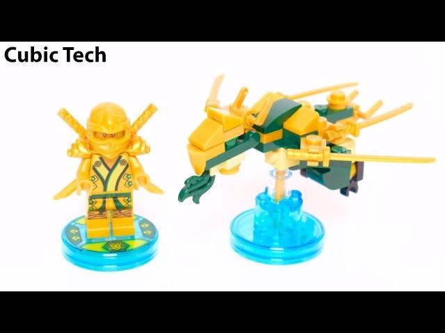 Lego Dimensions 71239 3 in 1 Fun Pack: Golden Ninja Lloyd - Lego Speed Build