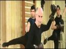Louis de Funes practicing martial arts: SAVATE (1 of 2)