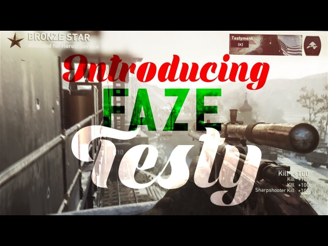Introducing FaZe Testy