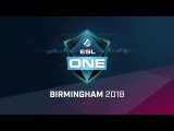 ESL One Birmingham 2018 - the first Dota 2 Major in the UK