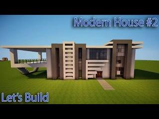 как построить модерн дома в майнкрафте 1.5.2 видео #7