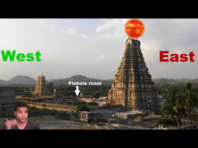 Секрет перевёрнутой башни - Храм Вирупакши - Камера-обскура