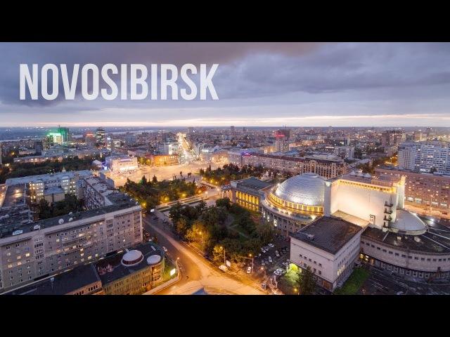Novosibirsk. Siberia. Timelapse Hyperlapse