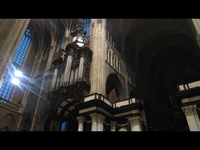 Variationen uber God Save the King (America) - Max Reger (Klais-Organ Gent-Cathedral)