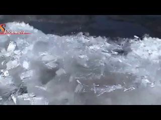 Ледяное цунами в Канаде 2013г. Пример материализации эфира в вещество.