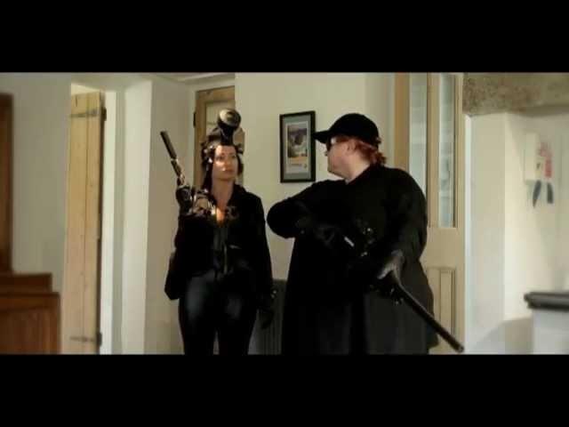 Agent Black Fox The female Assassin Kicks ass