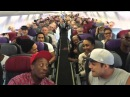 Король Лев на борту самолета