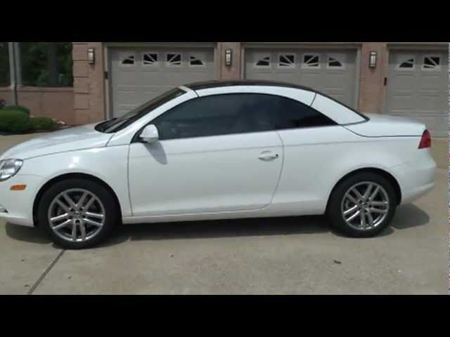 2008 VOLKSWAGEN EOS 2 0T HARD TOP CONVERTIBLE FOR SALE SEE WWW SUNSETMILAN COM