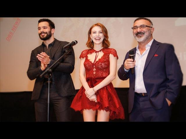 Барыш Ардуч и Эльчин Сангу в Баку. Гала-премьера фильма Время Счастья