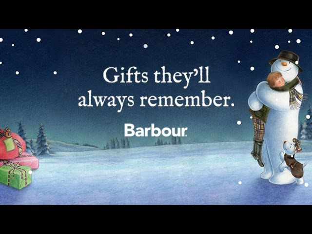 The Snowman and The Snowdog - Barbour Christmas Ad