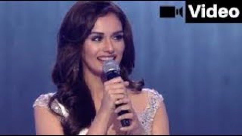 Watch Manushi Chillar Sing a Song For Her Fans