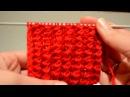 Вязание спицами , виды резинок Канадская или рельефная резинка