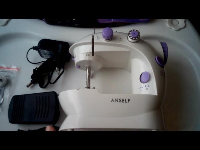 Алиэкспресс. Обзор на китайскую (мини) швейную машинку