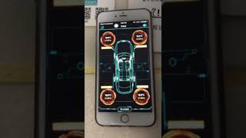 Bluetooth tpms tire pressure monitoring system operation steps 2