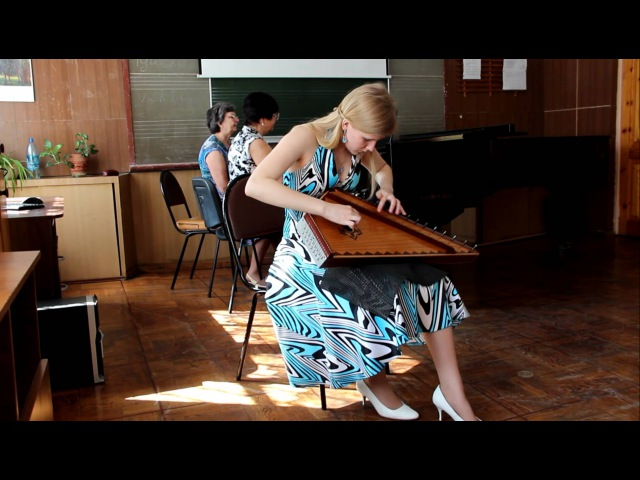Гусли - Ольга Глазова Olga Glazova Gusli - Russian Folk Song / Gusli Olga Glazova