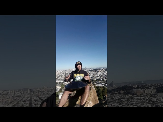 First Outdoor Jam (Rav Vast D Major) Downtown San Francisco View